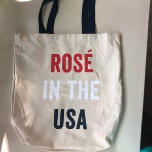 Rose' in the USA tote bag